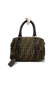 Handbag zucca pattern