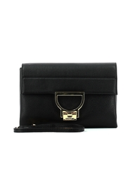 Arlettis single shoulder bag in leather