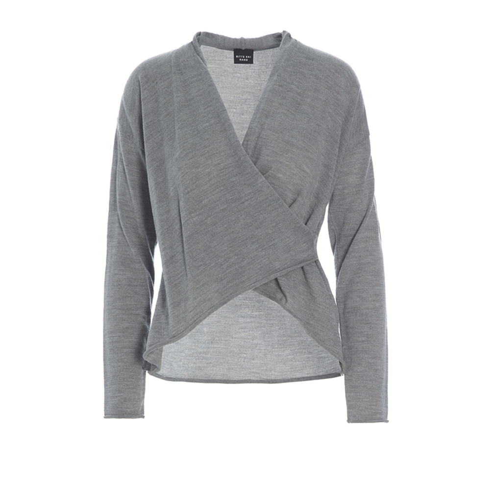Willow Wolle WRAP BLUSE