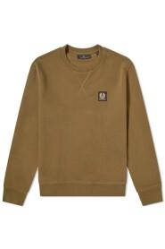 Patch Logo Crew Sweatshirt Salvia
