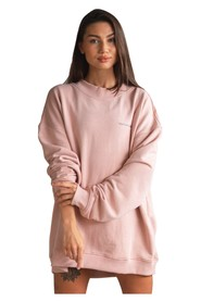 Oversized Crewneck Basic Rose