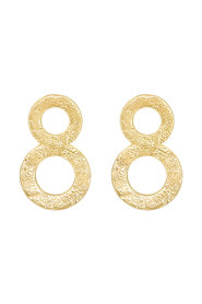 Double Circle Statement Earring