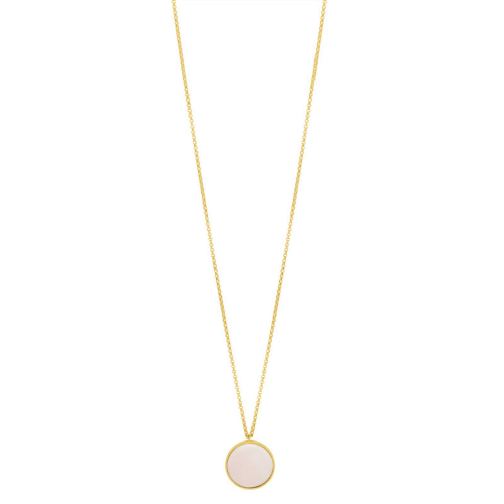 Fall Necklace Porce, Pearl
