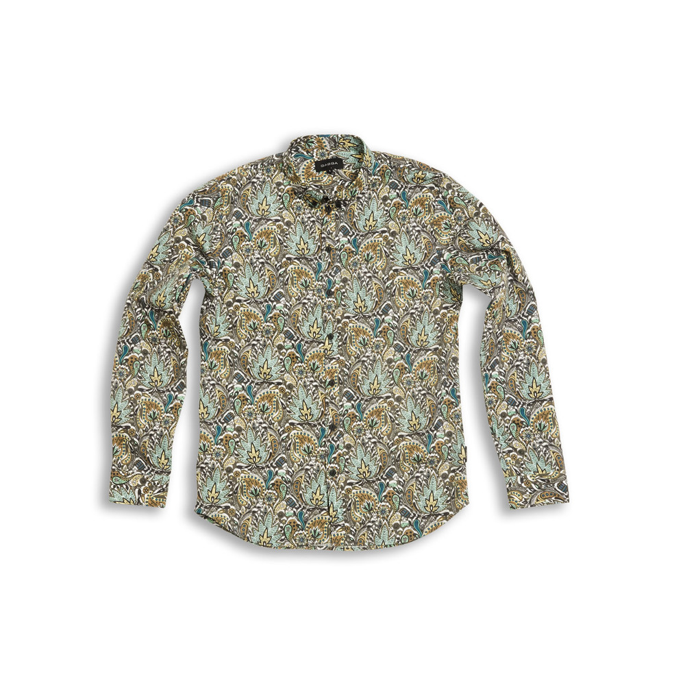 Brooks Floral Paisley Shirt