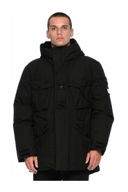 Ripstop Gore-Tex Con Paclite® Product Technology Mid Length Parka Down Jacket