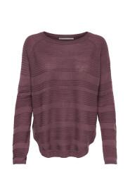 Stickad Pullover Solid
