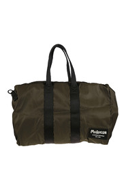 Large logo patch holdall