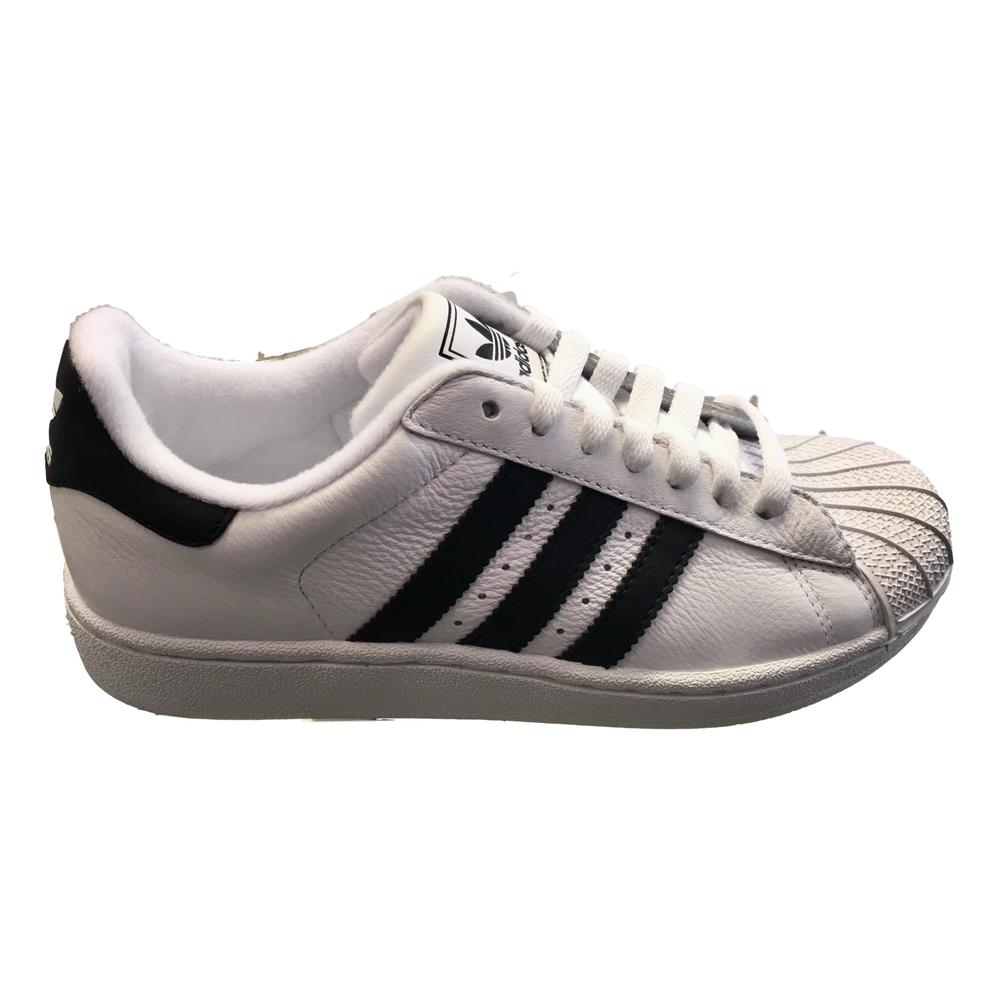 Hvit Adidas Superstar Sneakers