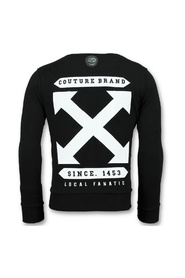 Off Cross - Luxe Sweater Mannen