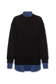 Sweater with collar