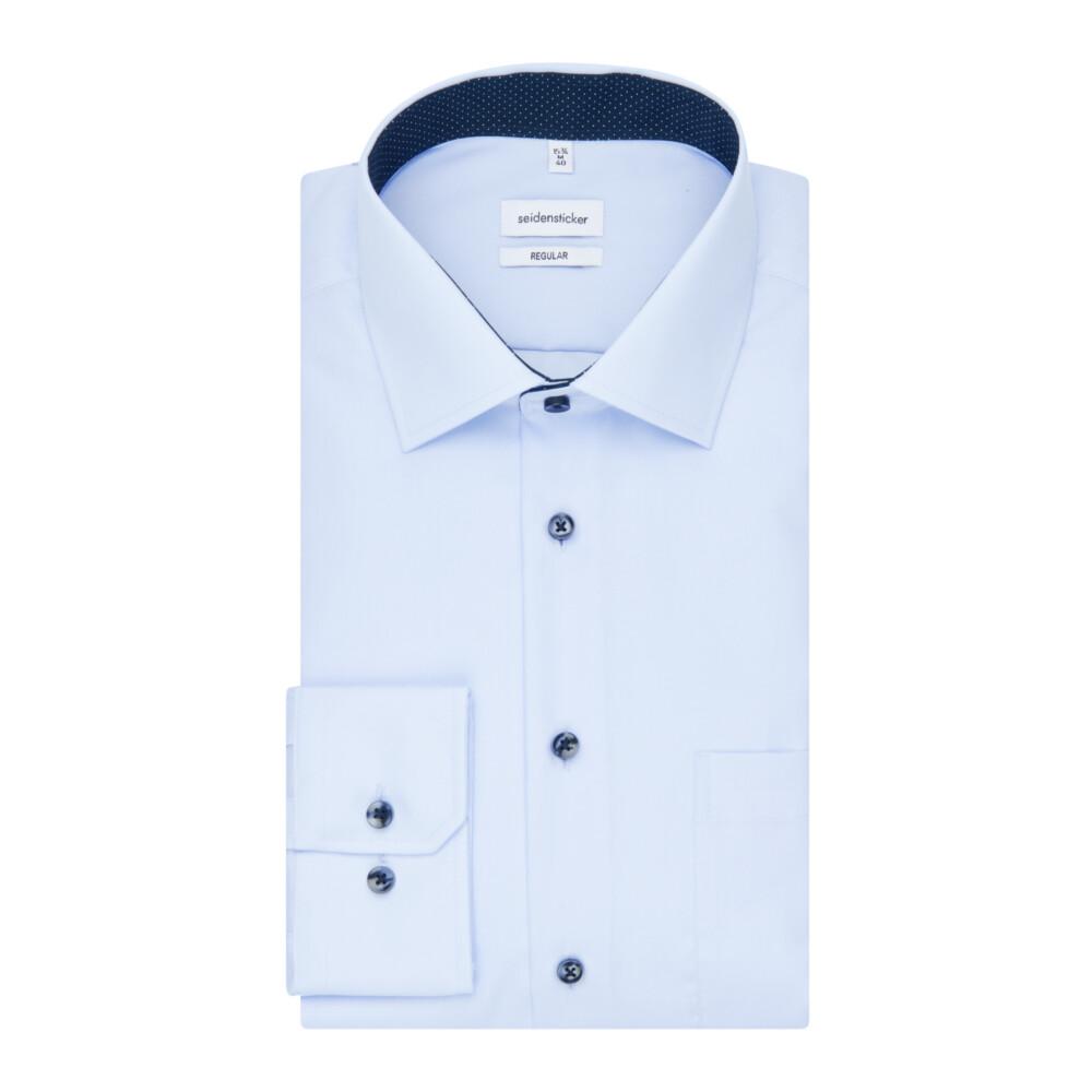 Blue Business Shirt Regular | Seidensticker | Zakelijke Overhemden | Herenkleding