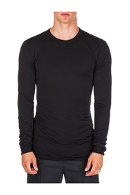 men's long sleeve t-shirt crew neckline