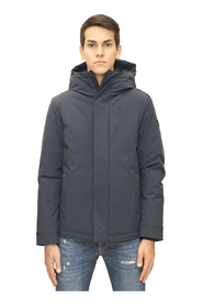 Stretch pacific hooded parka