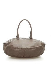 Intrecciato Leather Travel Bag