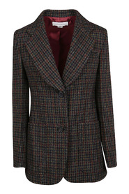FITTING JACKET WITH APPLIED POCKETS