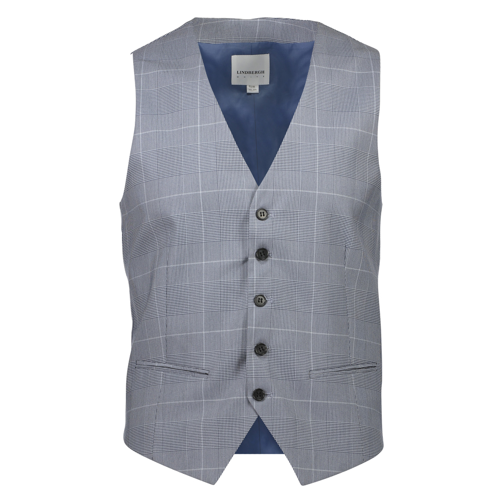 Waist coat for checked suit