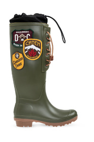 Dook rain boots with patches