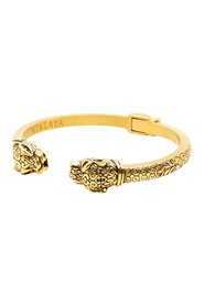 Men's Panther Bangle in Gold