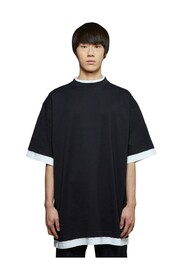 Oversized Double-Layer T-Shirt
