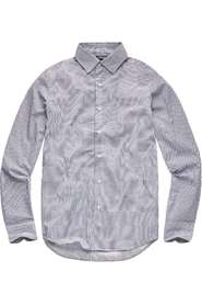 G-star Raw Core super slim shirt l\s Lange mouw Wit