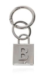 Keyring with padlock