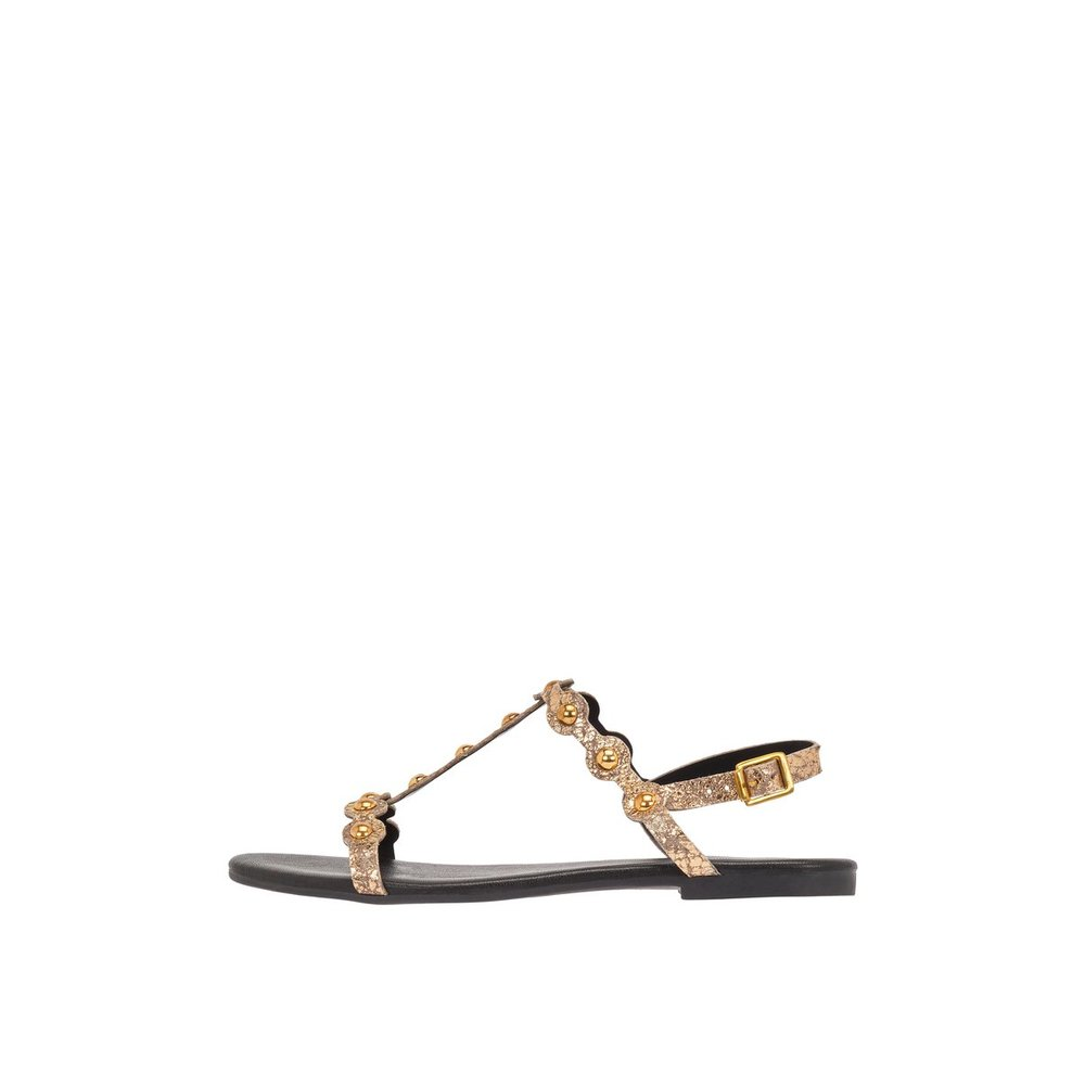 LEATHER STUDDED Sandals