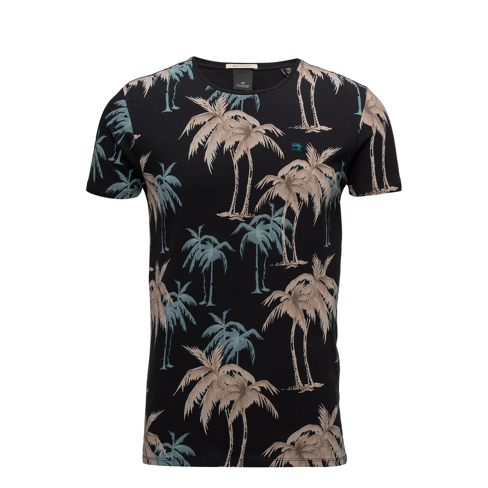 Scotch & Soda T-Shirt svart