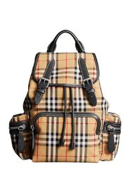Tartan medium backpack