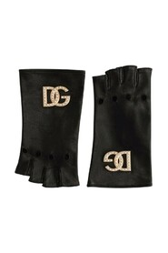 Gloves With DG Logo And Pearls