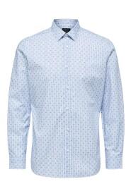 Slhregpen-Sixten Shirt Ls Skjorte