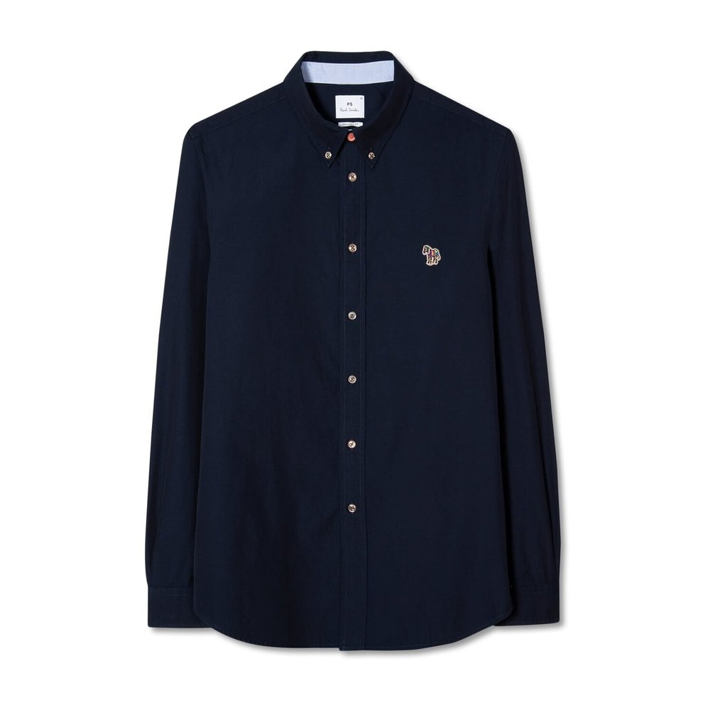 PS By Paul Smith LS Tailored BD Shirt Zebra Logo