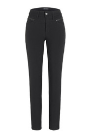 Parla seam zip trousers