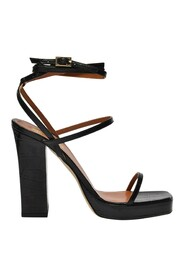 Bianca Platform Sandals in Leather