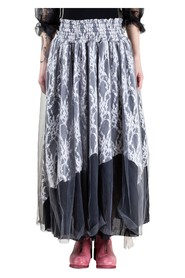Multi-Layer Lace Skirt