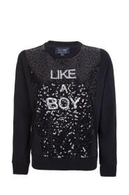 Like a Boy' Sequin Sweater