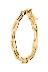 Gemma Hoop Gold Jewelry