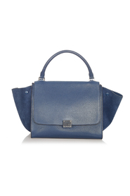 Pre-owned Trapeze Leather Satchel