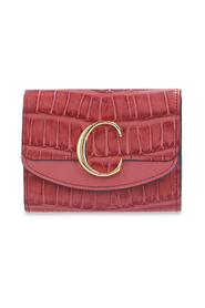 Chloé C wallet with logo