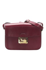 Horse Carriage Leather Crossbody Bag