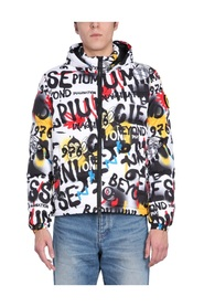 CIESSE X J-AX STREET ART DOWN JACKET
