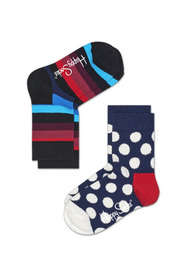 2-PACK BIG DOT SOCKS KSTR02 6001