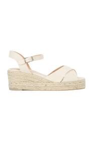 Blaudell wedge sandaal