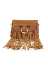 MINI PIERCE LEATHER FRINGE