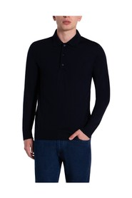Summer Wool Polo Sweater