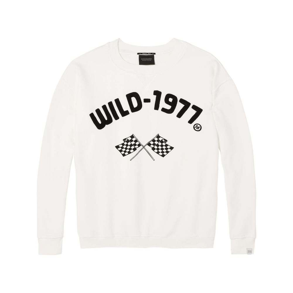 Race-Inspired Sweater Scotch & Soda