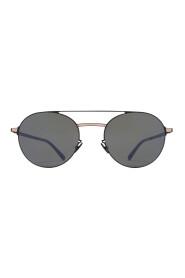 Panto Shaped Frame Sunglasses