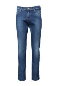 Blå Wrangler Larston Starburst Jeans
