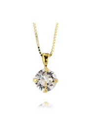 Classic Petite Necklace / Crystal - Caroline Svedbom