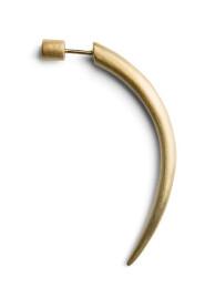 Horn Earring, forgyldt sterlingsølv