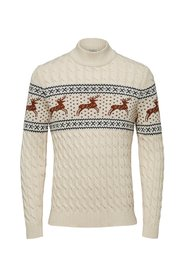 Knitted Pullover Reindeer